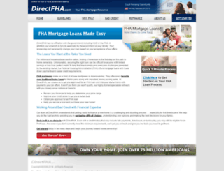 directfha.com screenshot