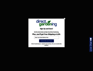 directgardening.com screenshot