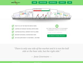 directionalerts.com screenshot