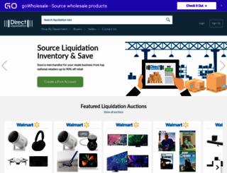 directliquidation.com screenshot