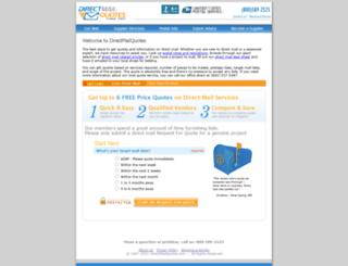 directmailquotes.com screenshot