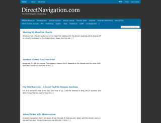 directnavigation.com screenshot
