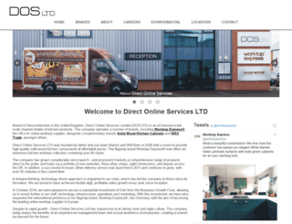 directonlineservices.co.uk screenshot