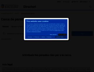 directori.ub.edu screenshot