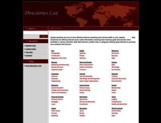 directorieslist.net screenshot