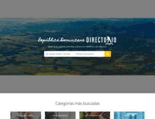 directorio.com.do screenshot