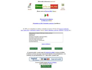 directorio.com.mx screenshot