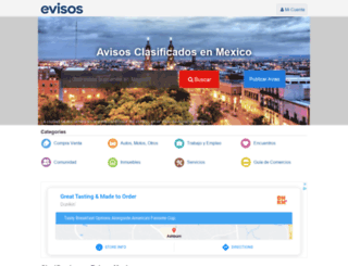 directorio.evisos.com.mx screenshot