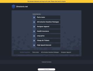 directorio.net screenshot