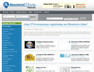 directoriolibre.com.gt screenshot