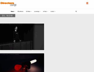 directorslounge.net screenshot