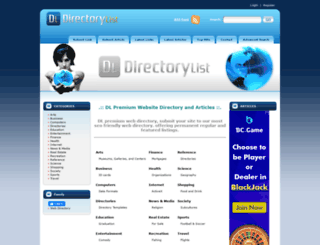 directory-list.com screenshot