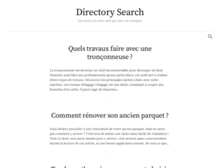 directory-search.org screenshot