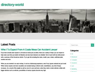 directory-world.org screenshot