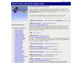 directory.brokeroutpost.com screenshot