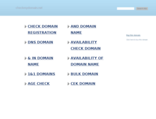 directory.checkmydomain.net screenshot
