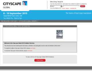 directory.cityscapeglobal.com screenshot