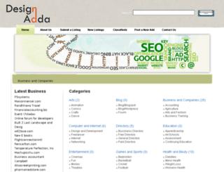 directory.designadda.in screenshot