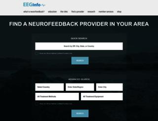 directory.eeginfo.com screenshot