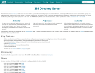directory.fedoraproject.org screenshot