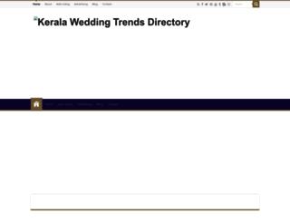 directory.keralaweddingtrends.com screenshot
