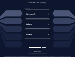 directory.onepakistan.com.pk screenshot