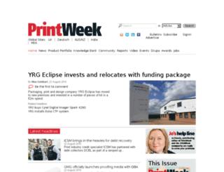 directory.printweek.com screenshot