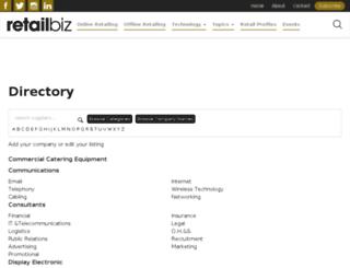 directory.retailbiz.com.au screenshot