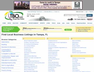 directory.tbo.com screenshot