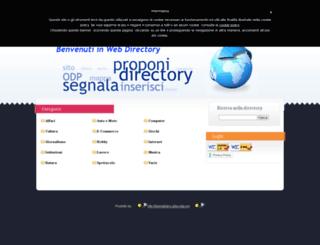 directory.tiberistefano.altervista.org screenshot