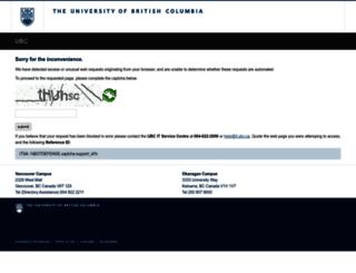 directory.ubc.ca screenshot