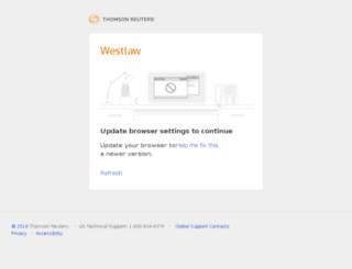 directory.westlaw.com screenshot