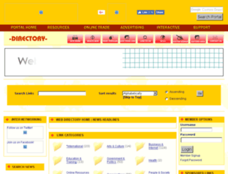 directory.zambia-online.com screenshot