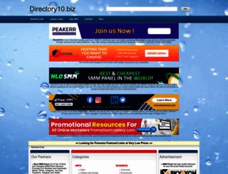 directory10.biz screenshot