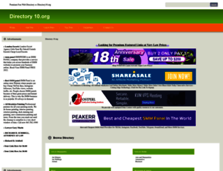 directory10.org screenshot