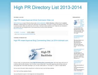 directory2013.blogspot.in screenshot