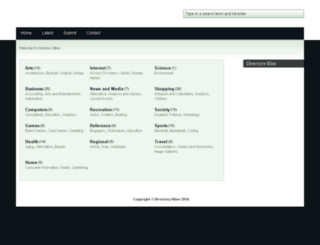 directorybliss.com screenshot