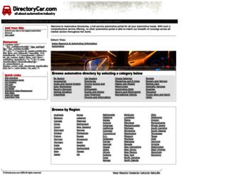 directorycar.com screenshot