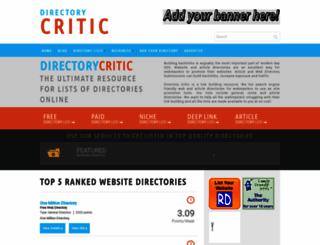 directorycritic.com screenshot
