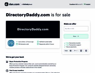 directorydaddy.com screenshot