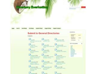 directoryeverlasting.com screenshot