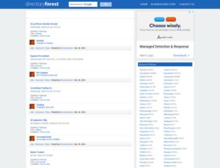 directoryforest.com screenshot