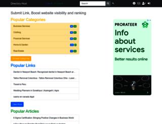 directoryhost.org screenshot