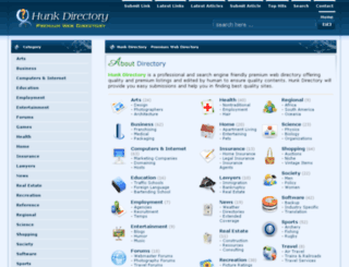 directoryhunk.com screenshot