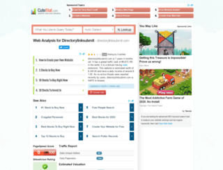 directorylinksubmit.com.cutestat.com screenshot