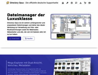 directoryopus.de screenshot