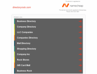 directoryrock.com screenshot