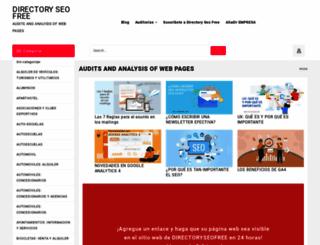 directoryseofree.com screenshot
