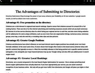 directorysubmissionsshop.com screenshot