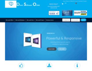 directsoftwareoutlet.com screenshot